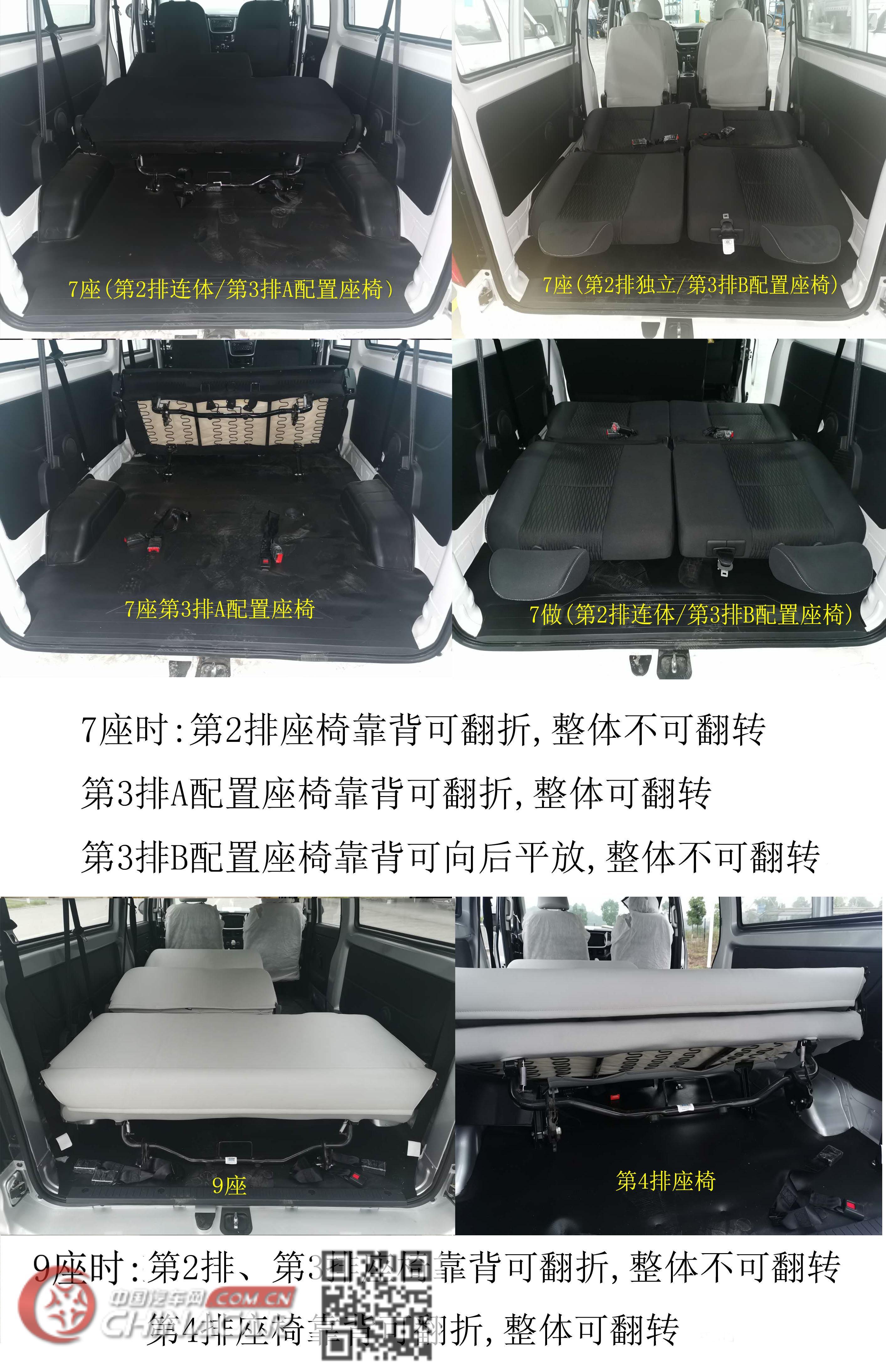 鑫源牌JKC6490B6X3型多用途乘用车图片3