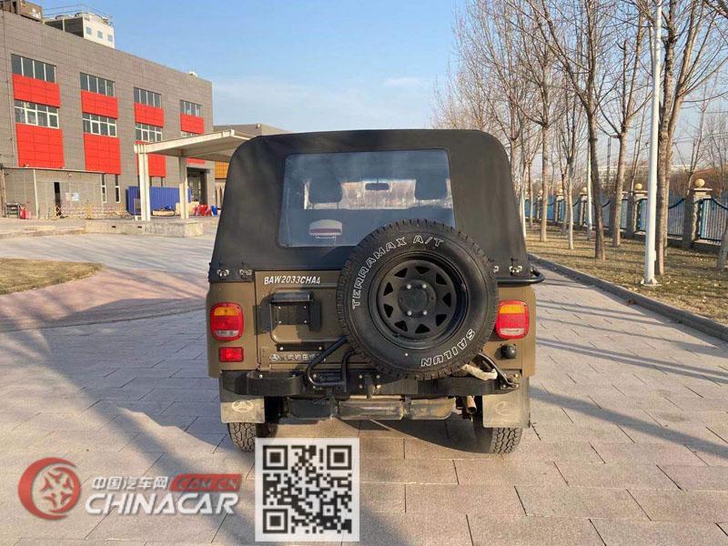 北京汽车制造厂有限公司牌BAW2033CHA4型越野乘用车图片3
