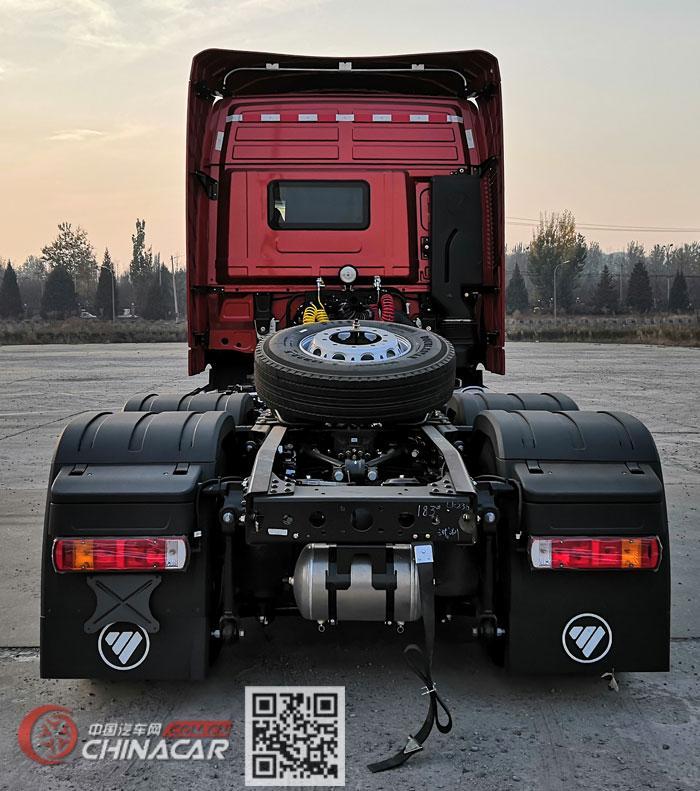 欧曼牌BJ4259Y6DHL-18型危险品牵引汽车图片4