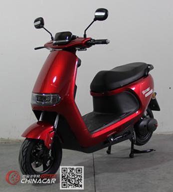 杰宝一品牌JBK800DQT-4型电动两轮轻便摩托车图片1