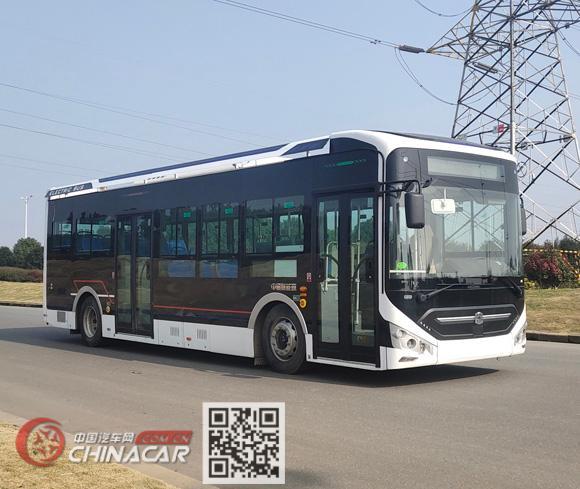 中通牌LCK6106EVGA5型纯电动城市客车图片1