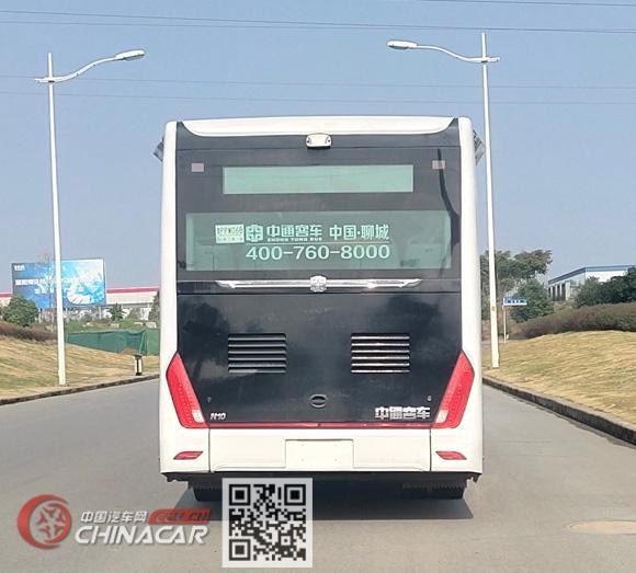 中通牌LCK6106EVGA5型纯电动城市客车图片