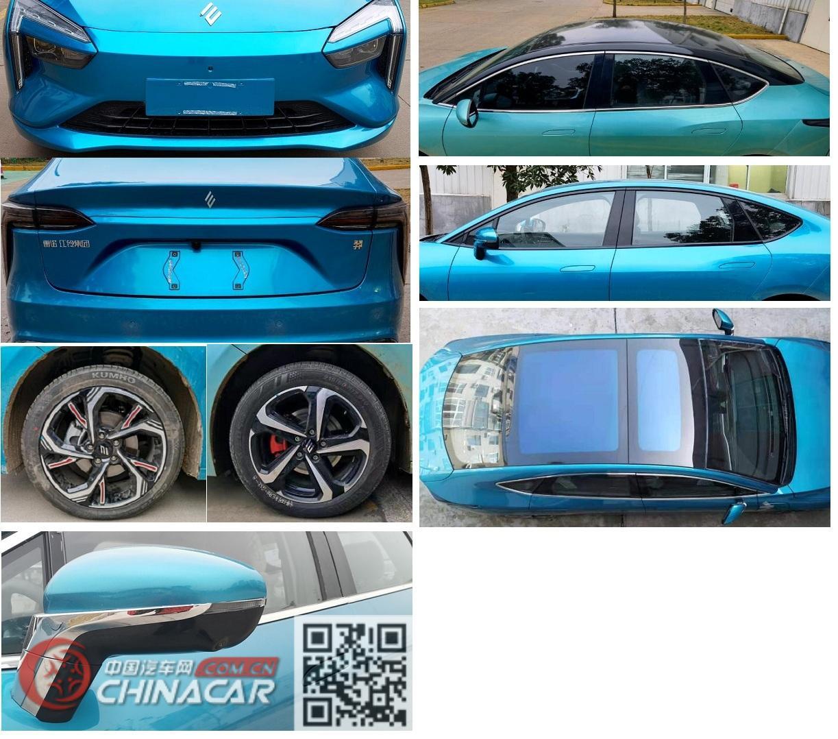 羿驰牌JX7001ERCBEV型纯电动轿车图片2