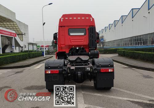 红岩牌CQ4187ED10361型半挂牵引汽车图片4
