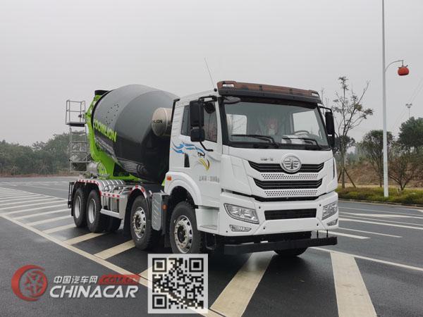 中联牌ZLJ5318GJBJW2E型混凝土搅拌运输车图片1