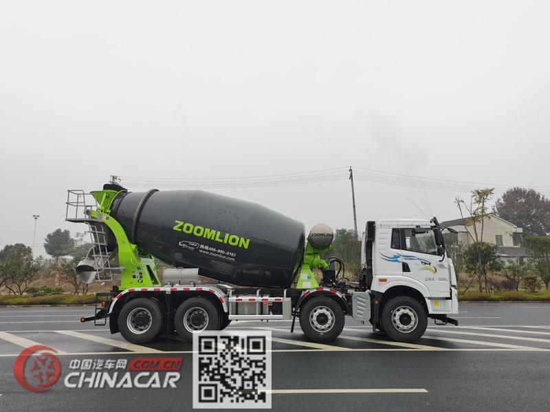 中联牌ZLJ5318GJBJW2E型混凝土搅拌运输车图片2