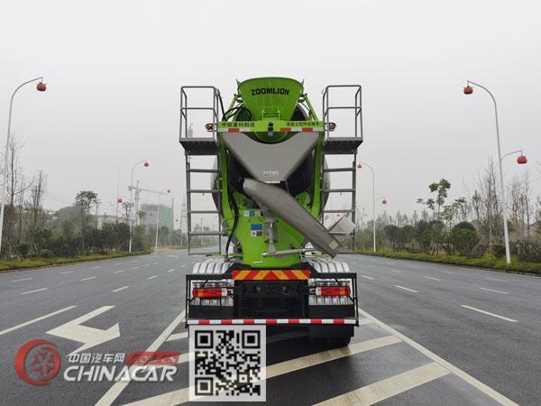 中联牌ZLJ5318GJBJW2E型混凝土搅拌运输车图片