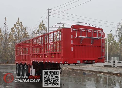 威正百业牌WZB9405CCYE型仓栅式运输半挂车图片1