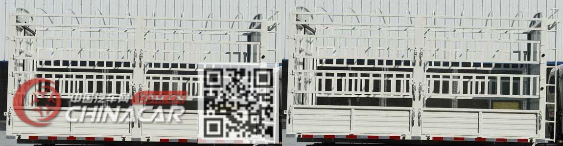 江铃牌JX2045CCYTGA26型越野仓栅式运输车图片4