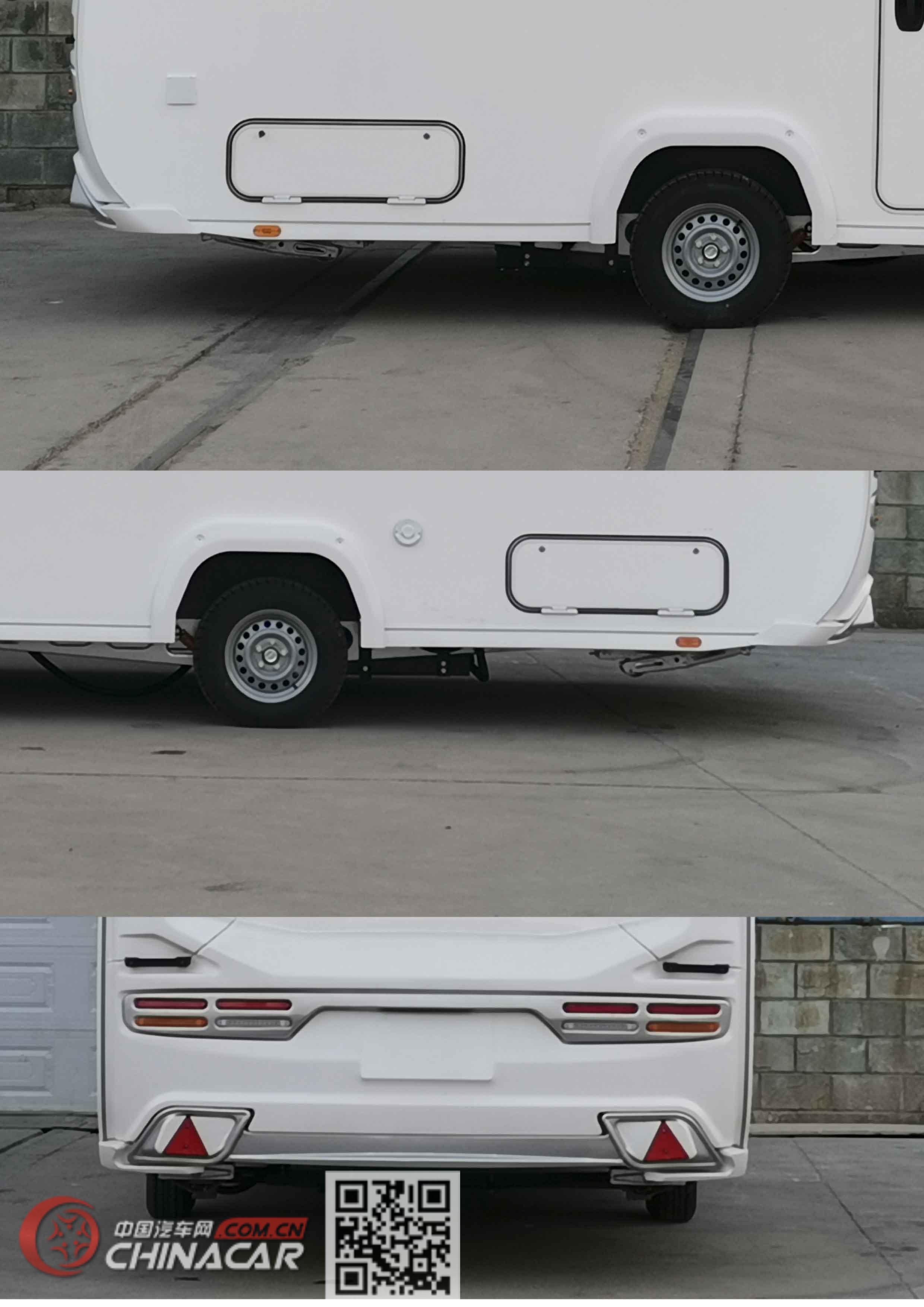 览众之星牌LZR9020XLJ型旅居挂车图片
