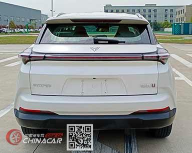 哪吒牌THZ6450BEVS30C型纯电动多用途乘用车图片4