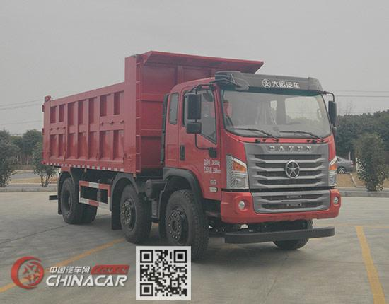 大运牌DYQ3243D6CC型自卸汽车图片1