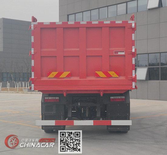 大运牌DYQ3243D6CC型自卸汽车图片3