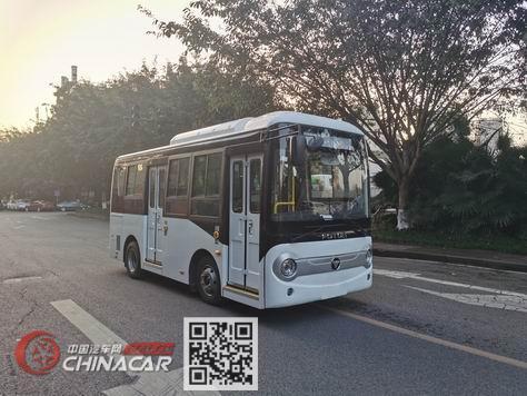 福田牌BJ6601EVCA型纯电动城市客车图片1