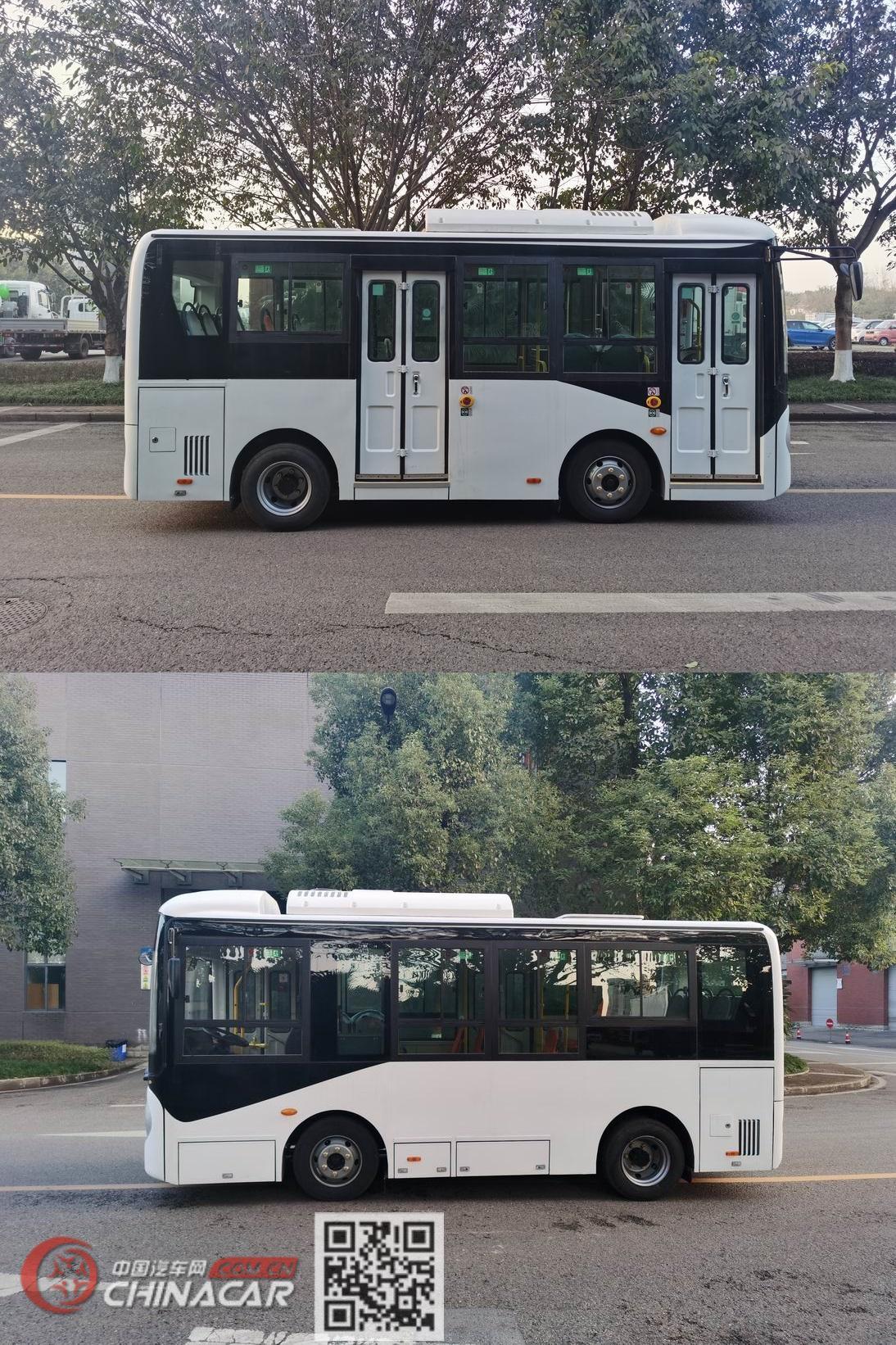 福田牌BJ6601EVCA型纯电动城市客车图片2