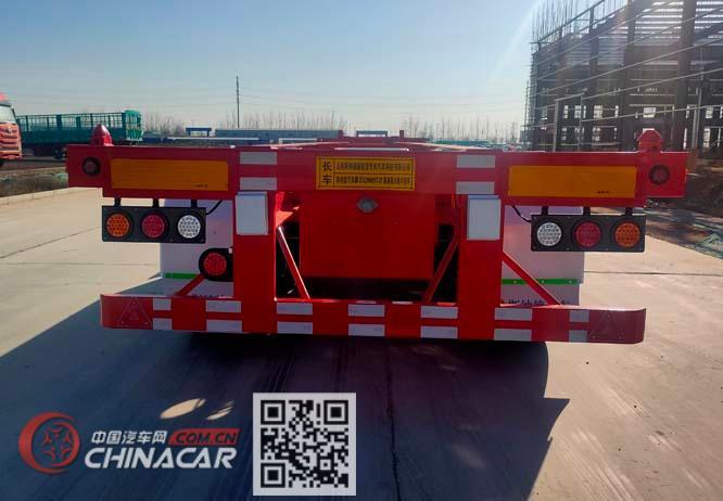 斯纳德汽车牌SND9409TJZ型集装箱运输半挂车图片3