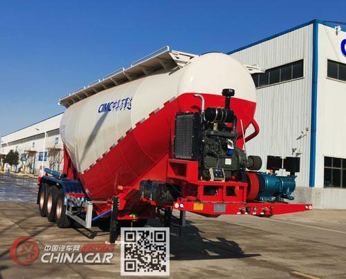 万事达牌SDW9407GFLB型中密度粉粒物料运输半挂车图片1
