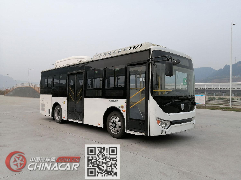 远程牌DNC6850BEVG4D型纯电动低入口城市客车图片1