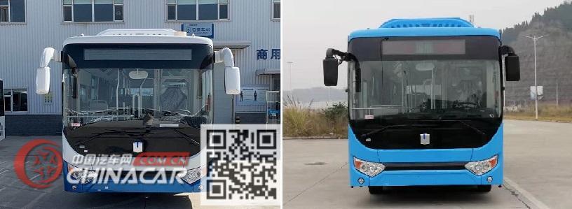 远程牌DNC6850BEVG4D型纯电动低入口城市客车图片2