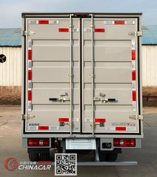 长安牌SC5031XXYSCAD6型厢式运输车图片3
