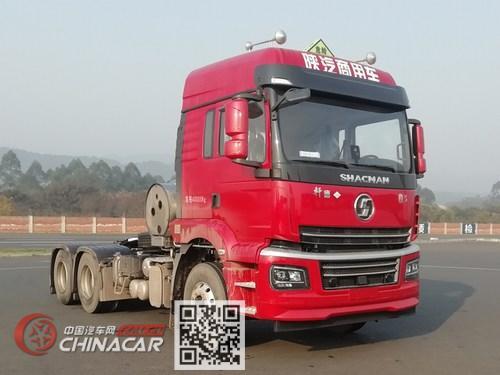 陕汽牌SX4250MPN384W型危险品牵引汽车图片1
