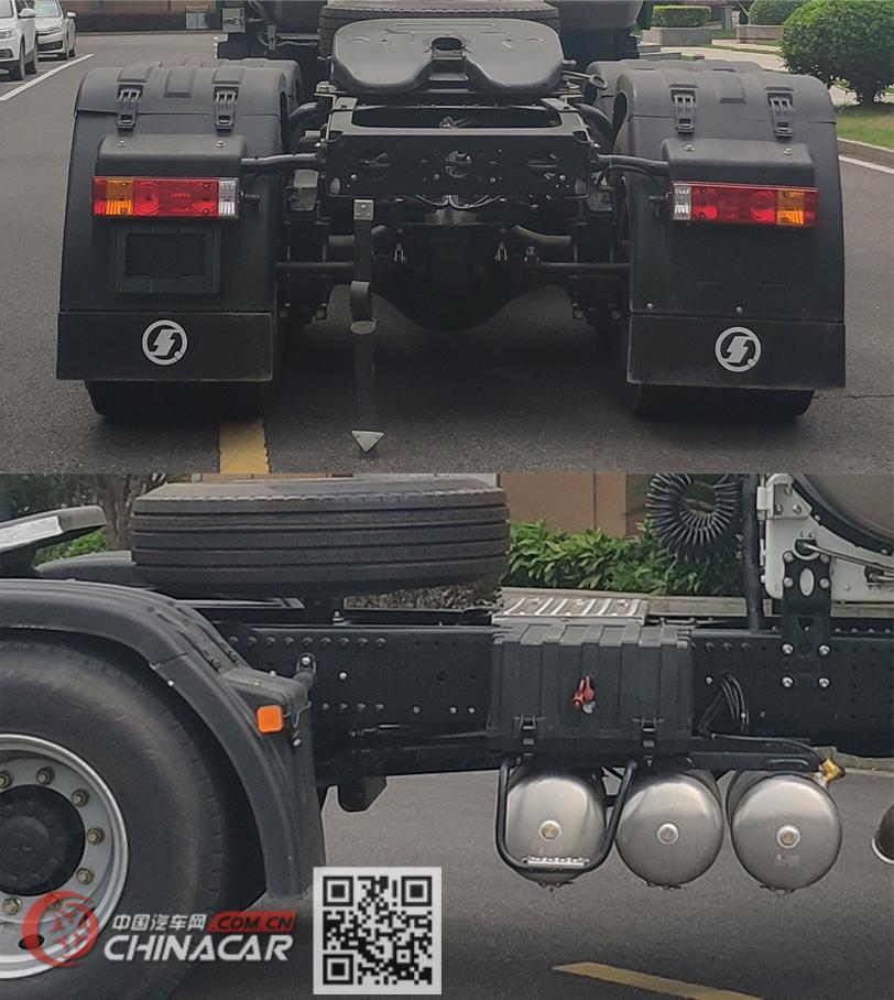 陕汽牌SX4250MPN384W型危险品牵引汽车图片3