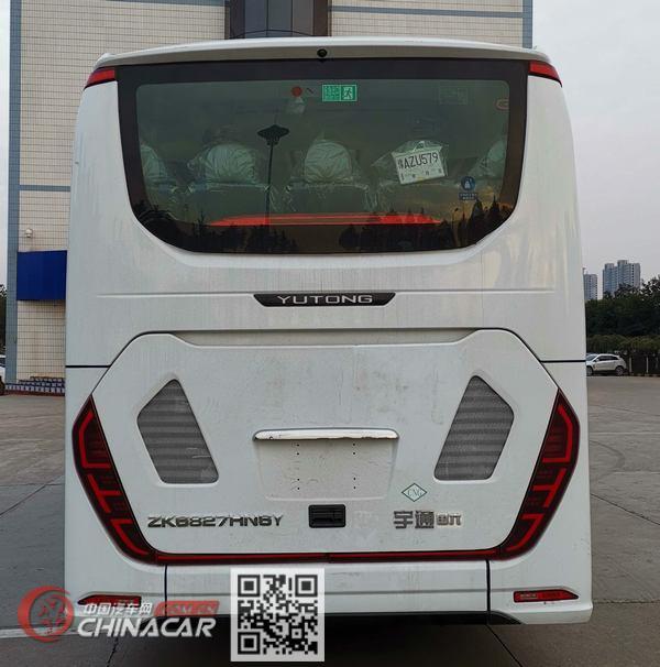 宇通牌ZK6827HN6Y型客车图片4