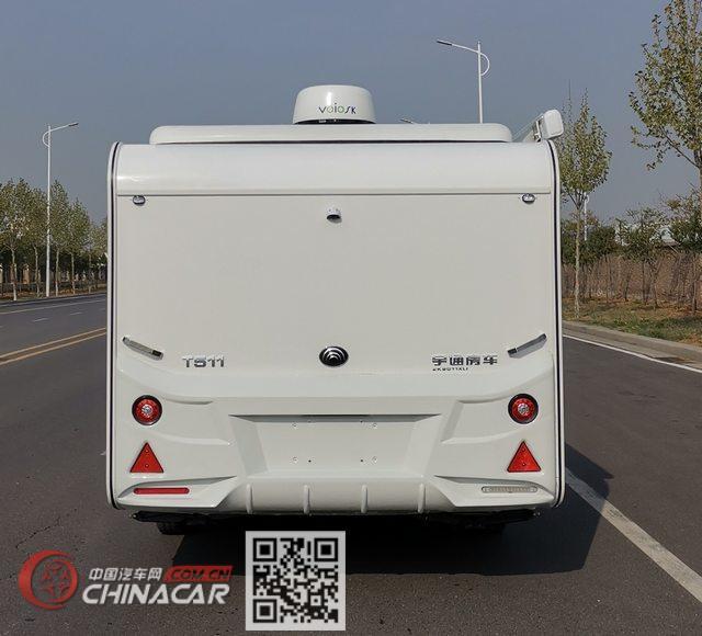 宇通牌ZK9011XLJ型旅居挂车图片