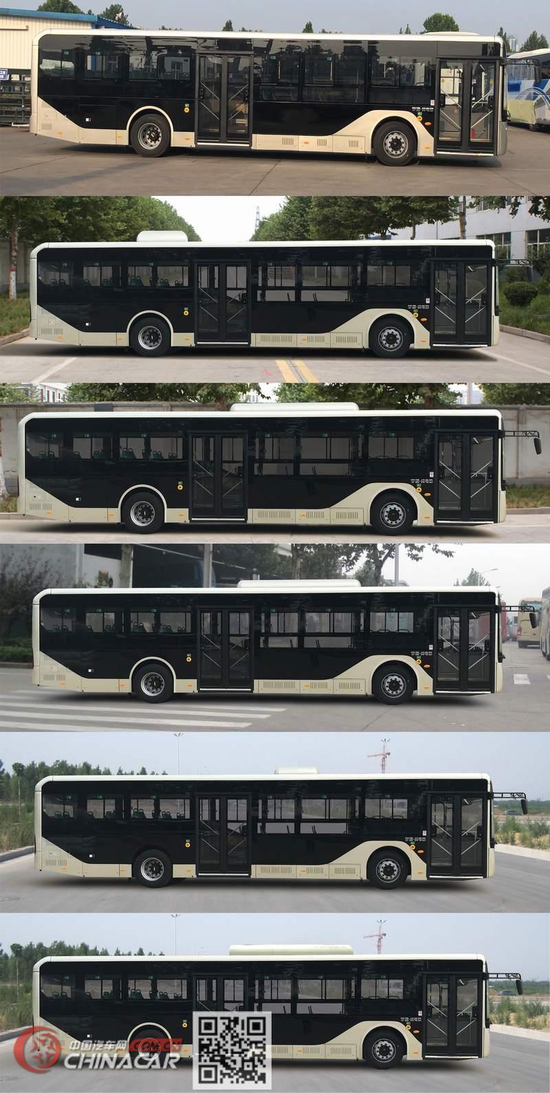 宇通牌ZK6126BEVG10型纯电动城市客车图片3