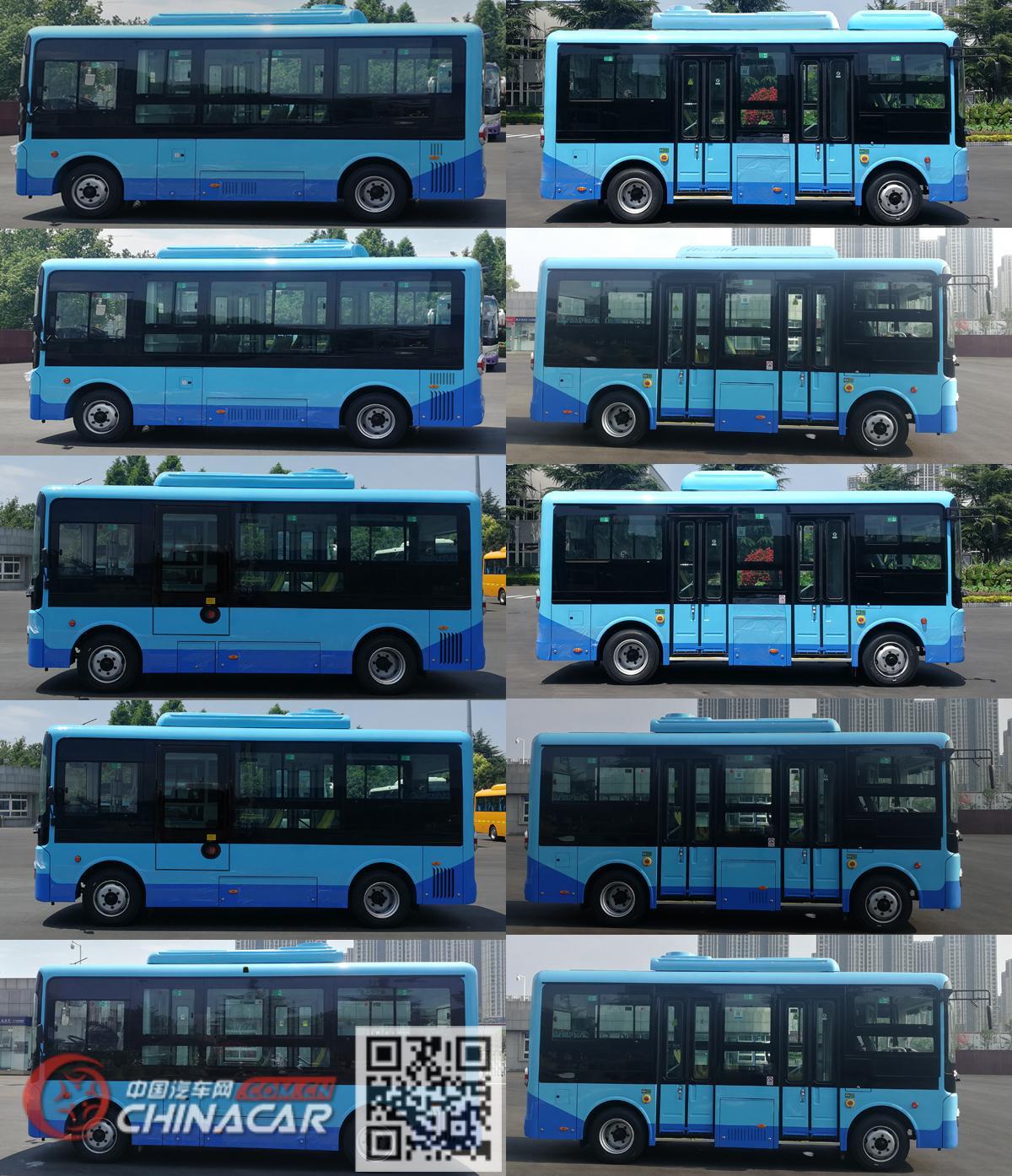 宇通牌ZK6605BEVG3型纯电动城市客车图片3