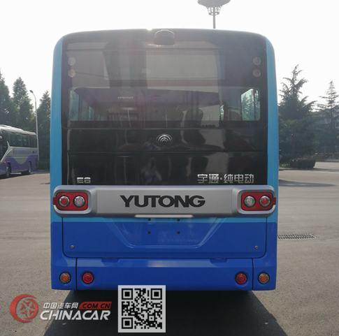 宇通牌ZK6605BEVG3型纯电动城市客车图片