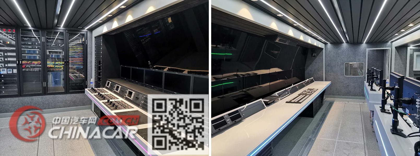 宇通牌ZK9280XDS型电视半挂车图片2