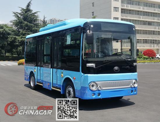 宇通牌ZK6605BEVG2型纯电动城市客车图片1