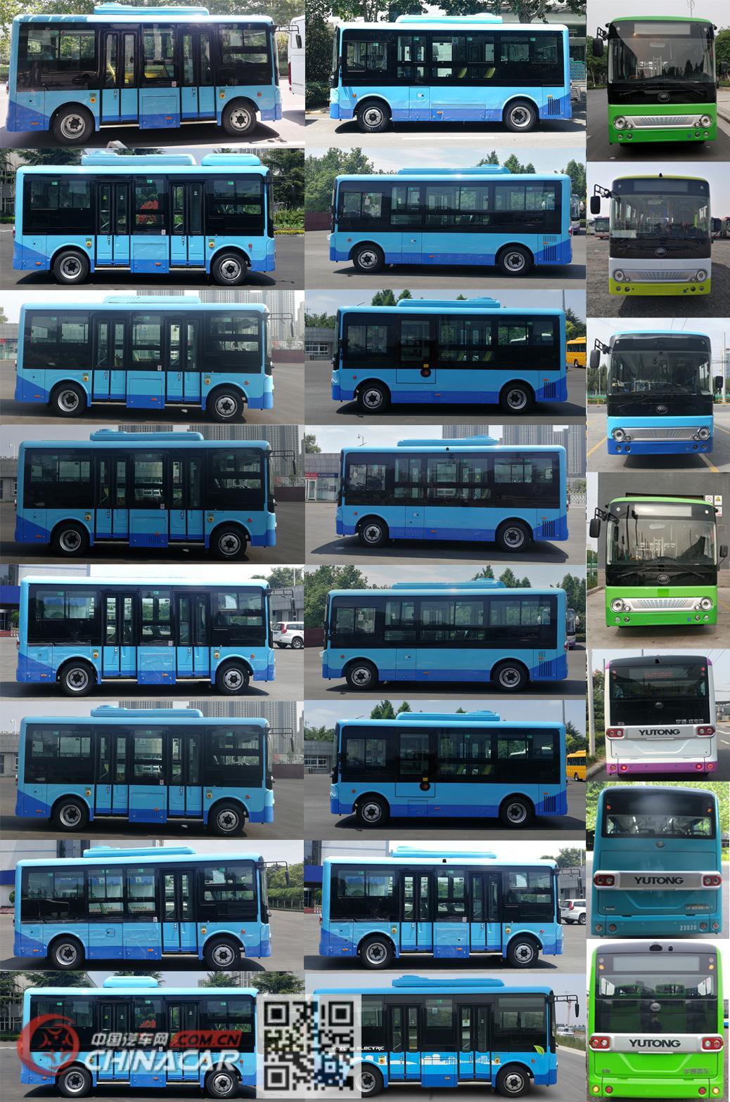 宇通牌ZK6605BEVG2型纯电动城市客车图片2
