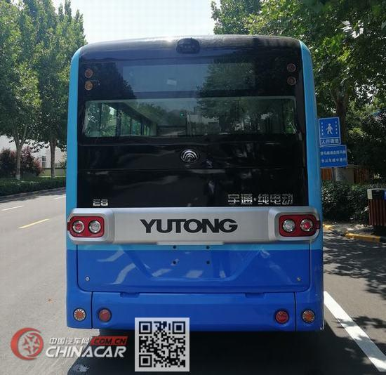 宇通牌ZK6605BEVG2型纯电动城市客车图片4