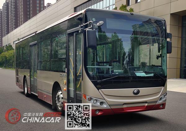 宇通牌ZK6106CHEVPG1型插电式混合动力城市客车图片1