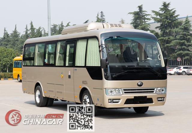 宇通牌ZK6809BEVQZ18型纯电动客车图片1