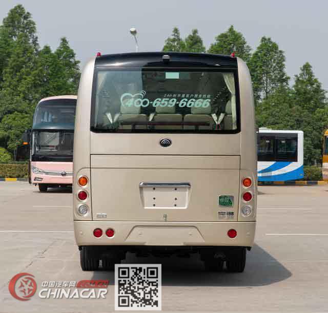 宇通牌ZK6809BEVQZ18型纯电动客车图片