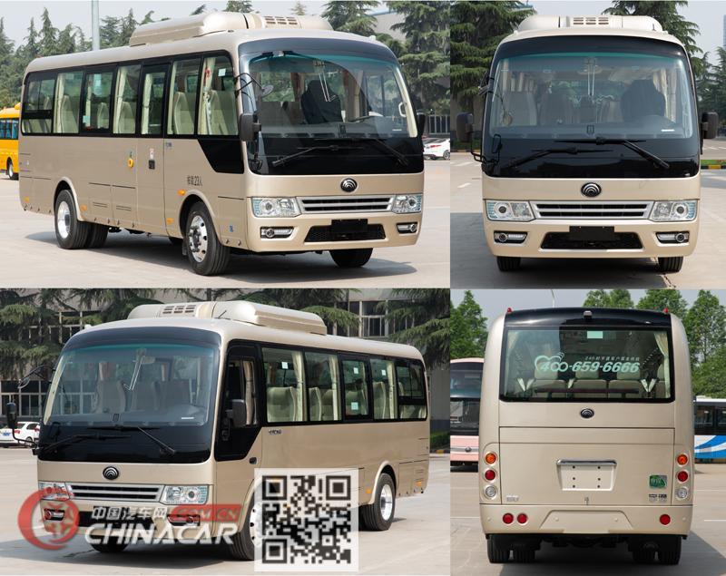 宇通牌ZK6809BEVQZ18型纯电动客车图片4