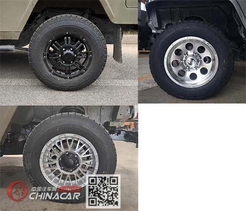 北京汽车制造厂有限公司牌BAW2033CHB4型越野乘用车图片2