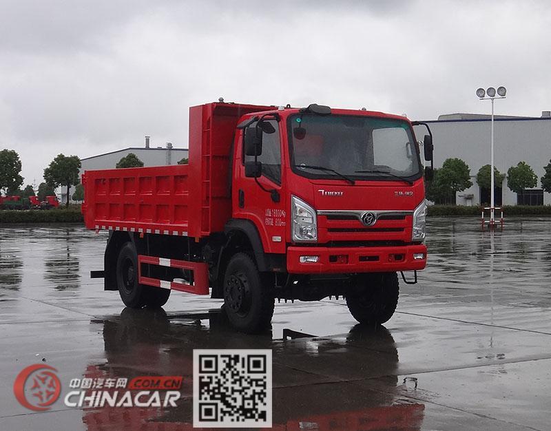 十通牌STQ2181L03Y3E6型越野自卸汽车图片1