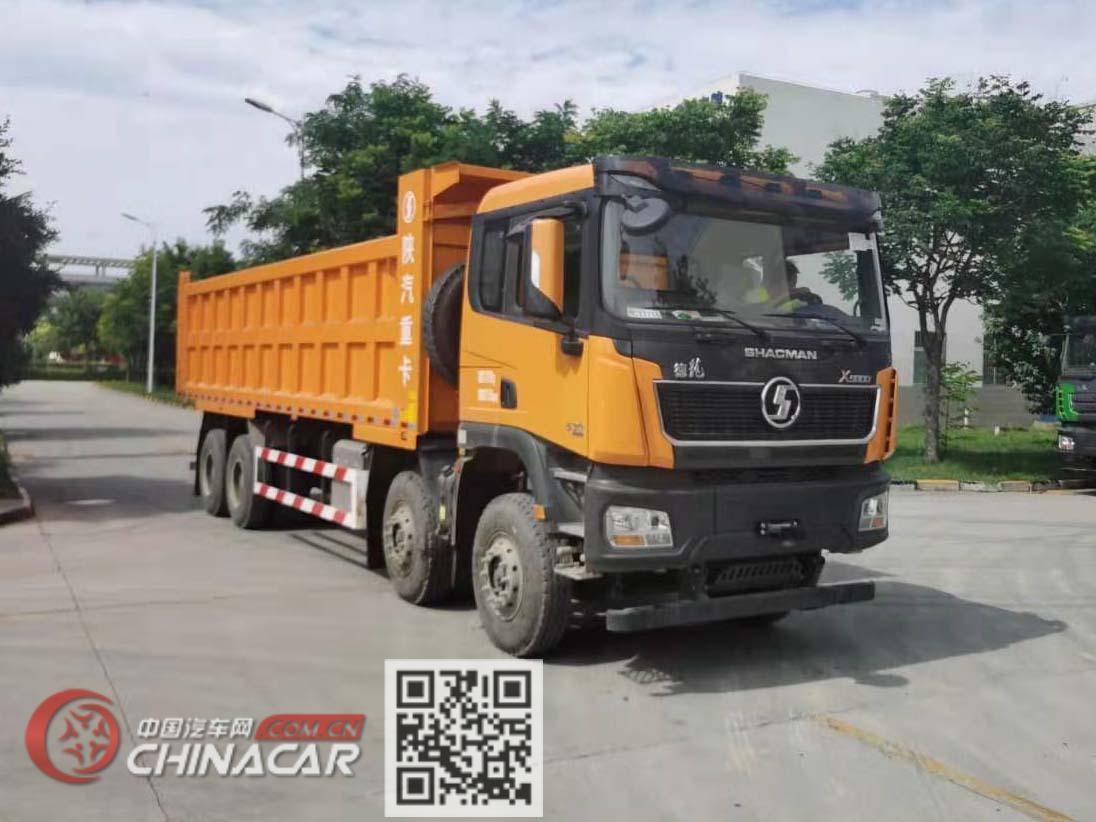 陕汽牌SX3319XE6型自卸汽车图片1