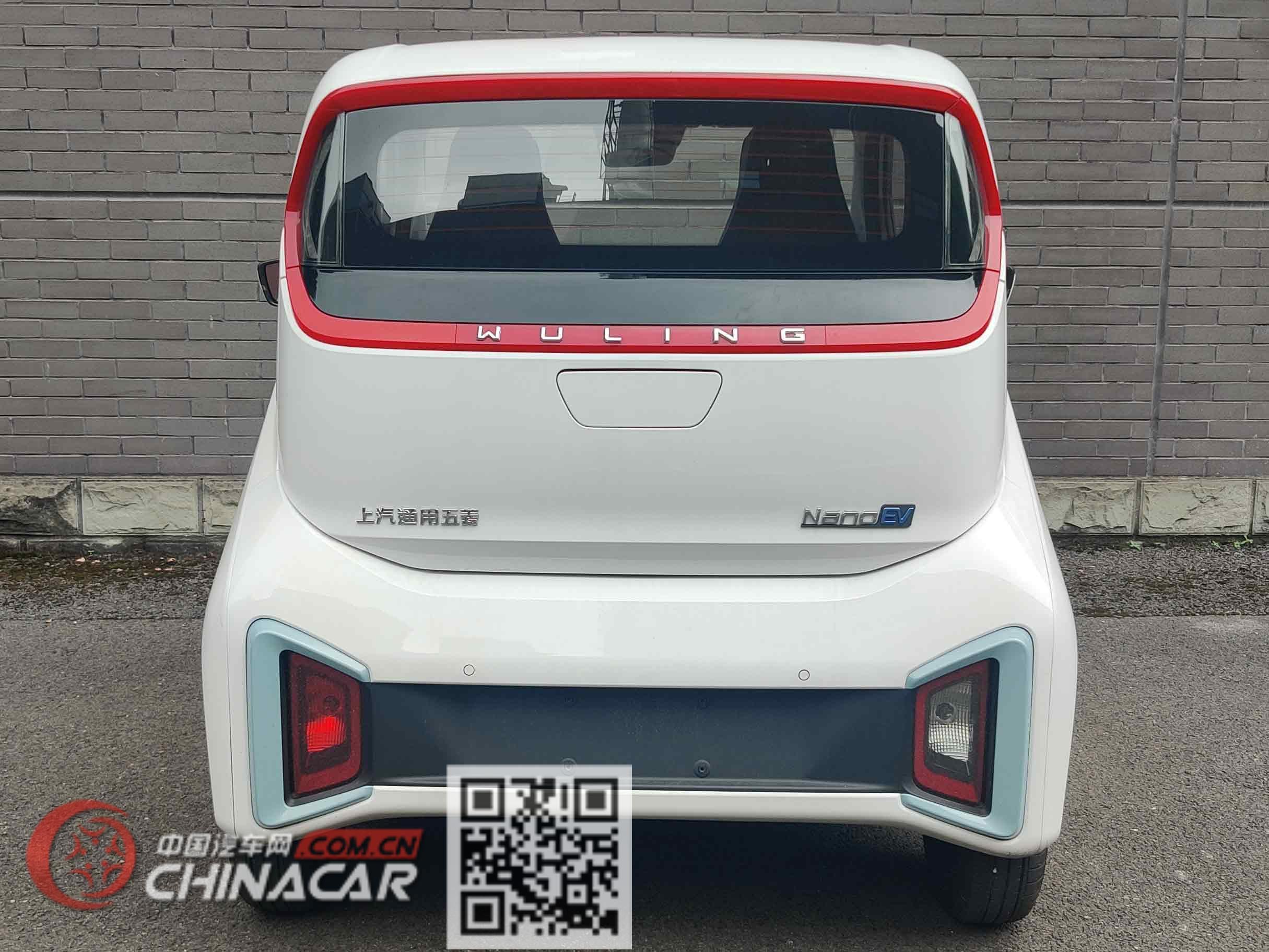 五菱牌LZW7002EVB1PAN型纯电动轿车图片4