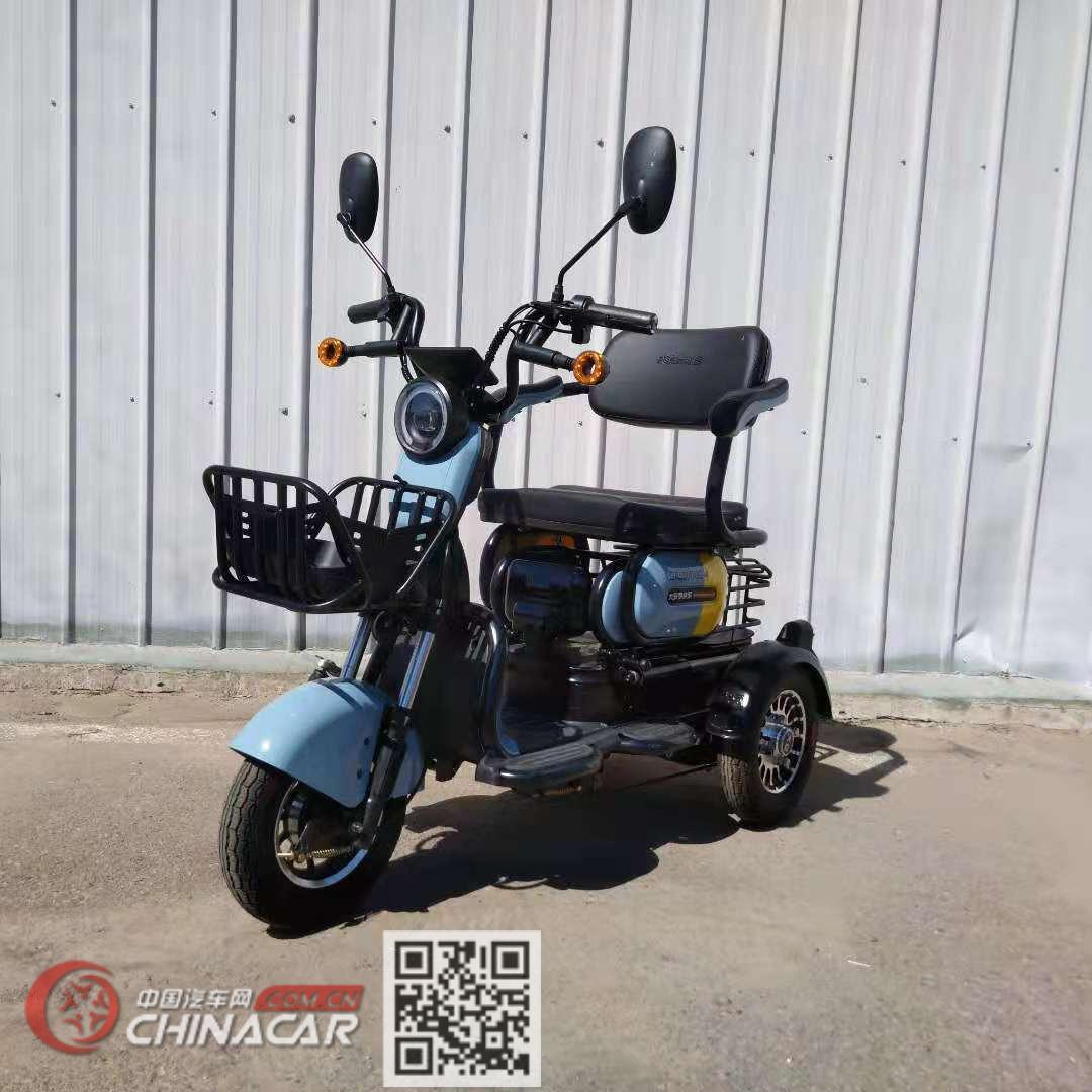 大安·罗纳多牌DA500DQZ-4型电动正三轮轻便摩托车图片1