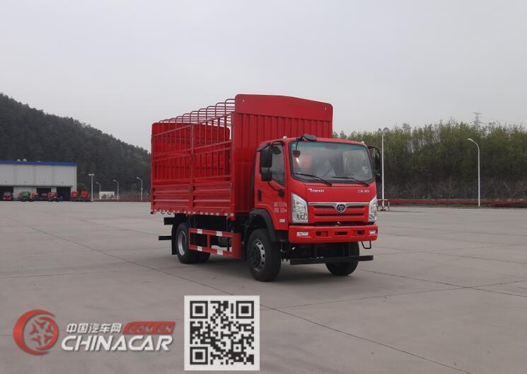 十通牌STQ2181CCYE6型越野仓栅式运输车图片1