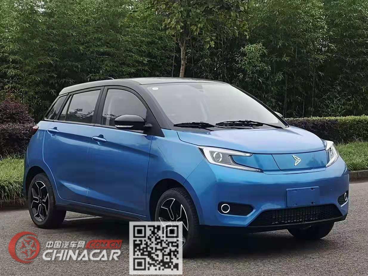 天琴牌YZ7001BEV型纯电动轿车图片1