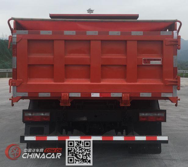 大运牌DYQ3098D6AB型自卸汽车图片