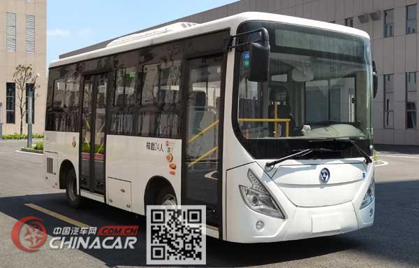 万达牌WD6700BEVWG01型纯电动城市客车图片1