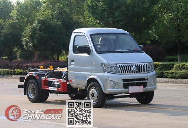 凯力风牌KLF5032ZXXS6型车厢可卸式垃圾车图片1