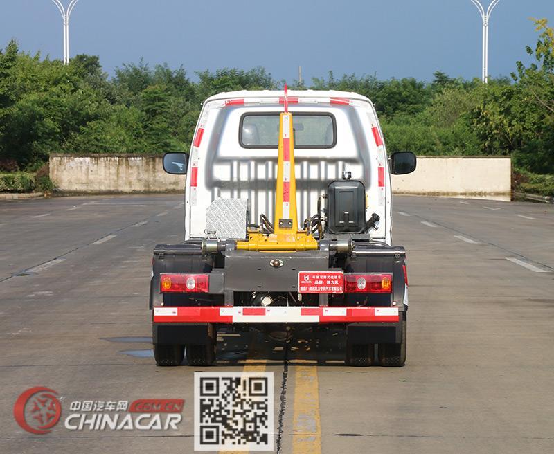 凯力风牌KLF5032ZXXS6型车厢可卸式垃圾车图片2